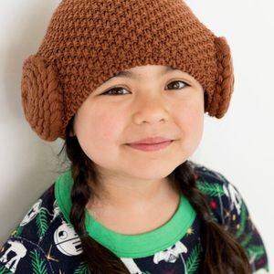 NWT Hanna Andersson Star Wars Princess Leia Hat M